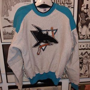 Vintage 90s San Jose Sharks NHL Sweatshirt